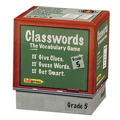 EDUPRESS CLASSWORDS VOCABULARY GR 5