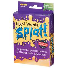 EDUPRESS SIGHT WORDS SPLAT GR K-1