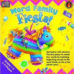 EDUPRESS WORD FAMILY FIESTA 3-4 LETTER WORD FAMILIES