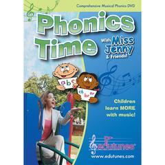 EDUTUNES MISS JENNYS PHONICS TIME DVD