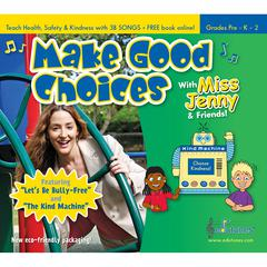 EDUTUNES MAKE GOOD CHOICES WITH MISS JENNY & FRIENDS CD