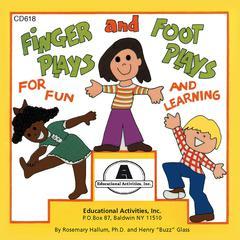 EDUCATIONAL ACTIVITIES FINGERPLAYS & FOOTPLAYS CD