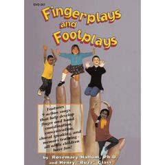 EDUCATIONAL ACTIVITIES FINGERPLAYS AND FOOTPLAYS DVD