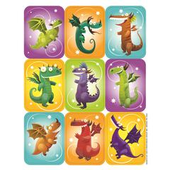 DRAGONS GIANT STICKERS