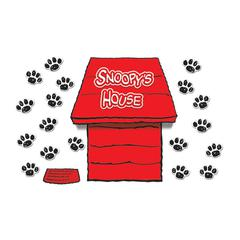 EUREKA GIANT PEANUTS DIMENSIONAL DOG HOUSE BB SET