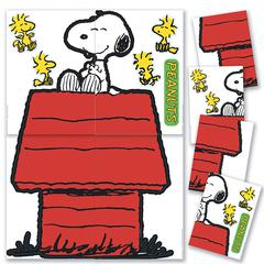 GIANT CHARACTER SNOOPY & DOG HOUSE BB SET
