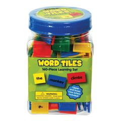EUREKA WORD TILES PARTS OF SPEECH 160/PK COLOR CODED