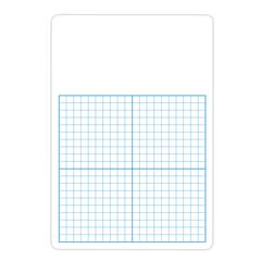 FLIPSIDE 12PK 1/2IN GRAPH DRY ERASE BOARDS CLASS PACK 11 X 16