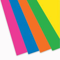 FOAM BOARD NEON ASSORTED 10PK