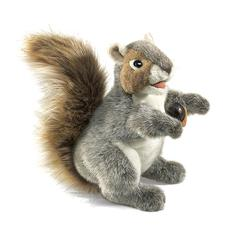 FOLKMANIS PUPPET GRAY SQUIRREL