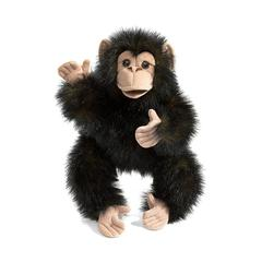 FOLKMANIS BABY CHIMPANZEE BABY STAGE PUPPET