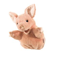FOLKMANIS PIG LITTLE PUPPET