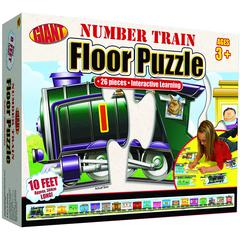 NUMBER TRAIN PUZZLE AGES 3-6