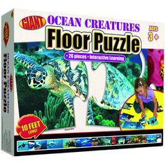 CARSON DELLOSA OCEAN CREATURES PUZZLE AGES 3-6