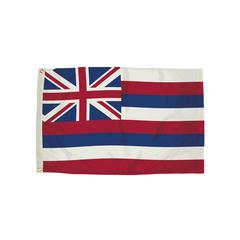 FLAGZONE 3X5 NYLON HAWAII FLAG HEADING & GROMMETS