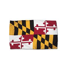 3X5 NYLON MARYLAND FLAG HEADING & GROMMETS