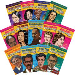 GALLOPADE BIOGRAPHY FUNBOOKS WOMEN & MINORITIES WHO SHAPED OUR NATION
