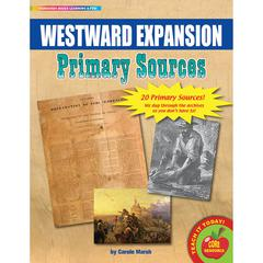 GALLOPADE PRIMARY SOURCES WESTWARD EXPANSION MOVEMENT