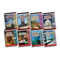 REAL KIDS REAL PLACES MYSTERIES SET 3 BOOKS 17-24