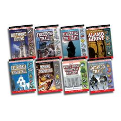 GALLOPADE REAL KIDS REAL PLACES MYSTERIES SET 1 BOOKS 1-8