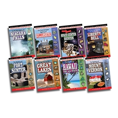 GALLOPADE REAL KIDS REAL PLACES MYSTERIES SET 4 BOOKS 25-32