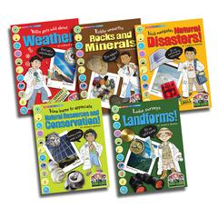 GALLOPADE SCIENCE ALLIANCE EARTH SCIENCE SET OF ALL 5 TITLES