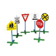 GUIDECRAFT USA DRIVETIME SIGN 6/PK 30 TALL POLE