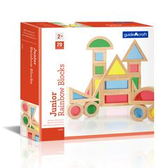 JR RAINBOW BLOCKS 20 PIECE SET