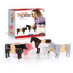 GUIDECRAFT USA FARM ANIMALS BLOCK MATES