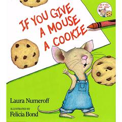 HARPER COLLINS PUBLISHERS IF YOU GIVE A MOUSE A COOKIE BIG BOOK