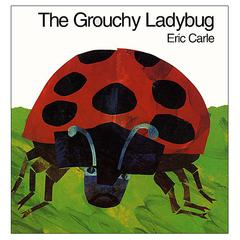 HARPER COLLINS PUBLISHERS THE GROUCHY LADYBUG HARDCOVER