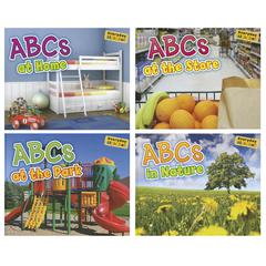 CAPSTONE / COUGHLAN PUB ABCS ALPHABET BOOKS SET OF ALL 4