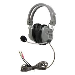 DELUXE HEADPHONE W/ BOOM MICROPHONE
