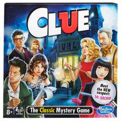 HASBRO TOY GROUP CLUE THE CLASSIC MYSTERY GAME