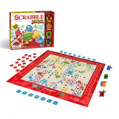 HASBRO TOY GROUP SCRABBLE JUNIOR BRAND CROSSWORD GAME