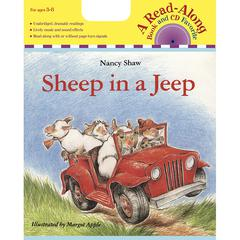 HOUGHTON MIFFLIN CARRY ALONG BOOK & CD SHEEP IN A JEEP