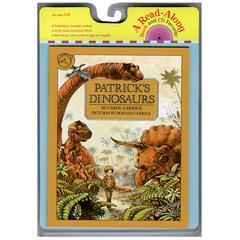 HOUGHTON MIFFLIN CARRY ALONG BOOK & CD PATRICKS DINOSAURS