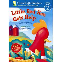 HOUGHTON MIFFLIN CARRY ALONG BOOK & CD THE LITTLE RED HEN