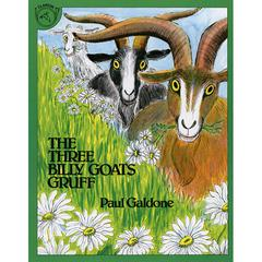 HOUGHTON MIFFLIN THE THREE BILLY GOATS GRUFF BIG BOOK