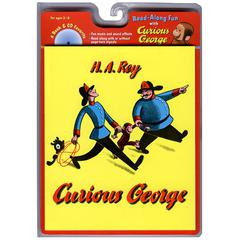 HOUGHTON MIFFLIN CARRY ALONG BOOK & CD CURIOUS GEORGE