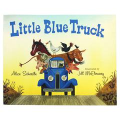 HOUGHTON MIFFLIN LITTLE BLUE TRUCK BIG BOOK