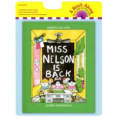 HOUGHTON MIFFLIN CARRY ALONG BOOK & CD MISS NELSON IS BACK
