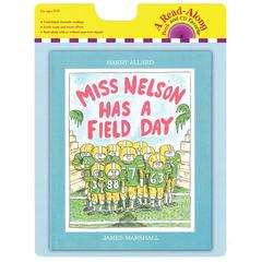 HOUGHTON MIFFLIN CARRY ALONG BOOK & CD MISS NELSON HAS A FIELD DAY