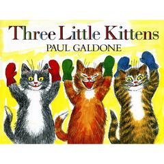 HOUGHTON MIFFLIN THE THREE LITTLE KITTENS BIG BOOK