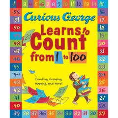 HOUGHTON MIFFLIN CURIOUS GEORGE LEARNS TO COUNT FROM 1 TO 100 BIG BOOK