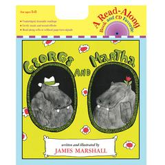 HOUGHTON MIFFLIN GEORGE & MARTHA CARRY ALONG BOOK/CD