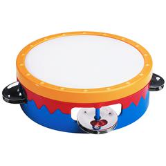 KHS AMERICA 6IN MULTI-COLORED TAMBOURINE