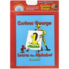 CURIOUS GEORGE LEARNS THE ALPHABET CARRY ALONG BOOK & CD