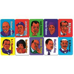 STICKERS FAMOUS AFRICAN AMERICANS