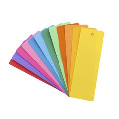 HYGLOSS PRODUCTS BOOKMARKS 2 X 6 ASSTD COLORS 500